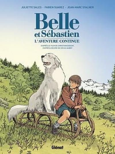 Couverture Belle & Sébastien - l'aventure continue