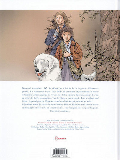 Dos Belle & Sébastien - l'aventure continue