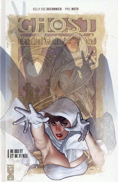 Couverture Ghost tome 1