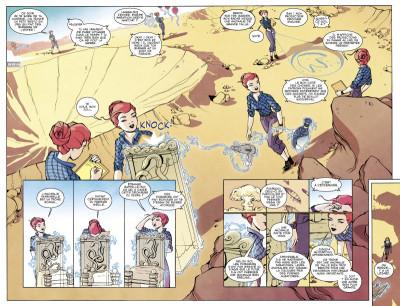 Page 4 Infinite loop tome 1