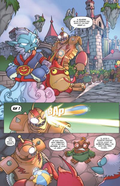 Page 1 Skylanders tome 3