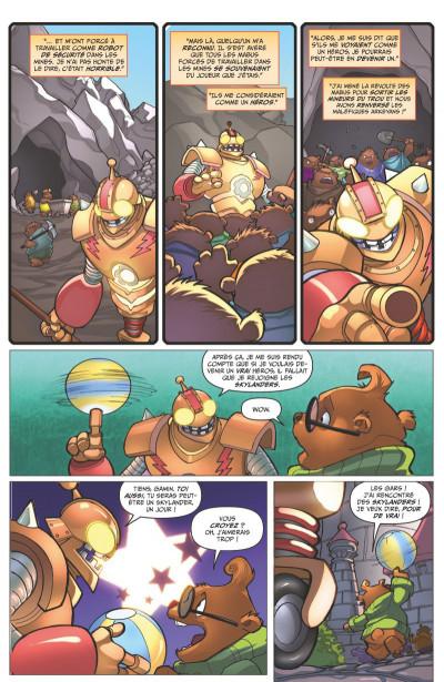 Page 3 Skylanders tome 3