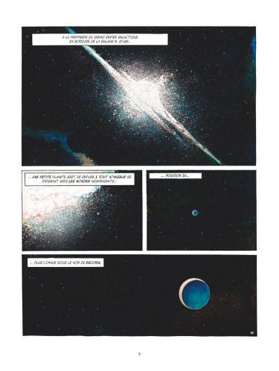 Page 1 Juan Gimenez, la saga SF