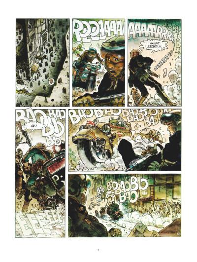 Page 3 Juan Gimenez, la saga SF