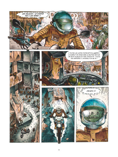 Page 4 Juan Gimenez, la saga SF