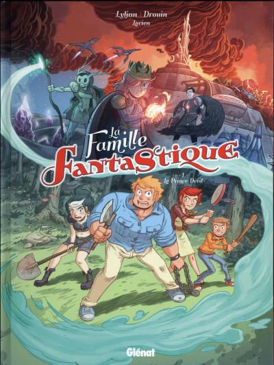Couverture La famille fantastique tome 1
