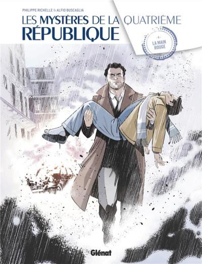 Couverture Les mystères de la quatrième république tome 4