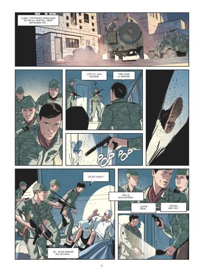 Page 1 Les mystères de la quatrième République tome 5