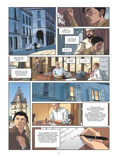 Page 3 Les mystères de la quatrième République tome 5