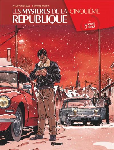 Couverture Les mystères de la cinquième République tome 5