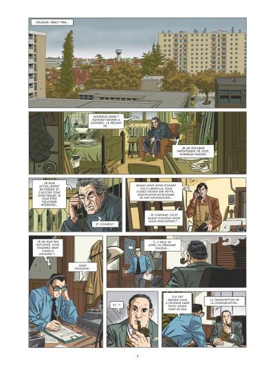 Page 1 Les mystères de la cinquième République tome 5