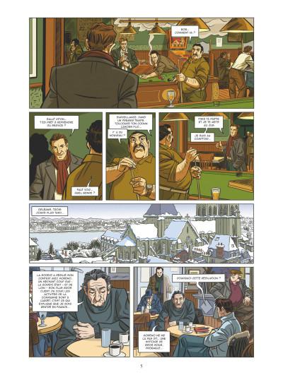 Page 3 Les mystères de la cinquième République tome 5