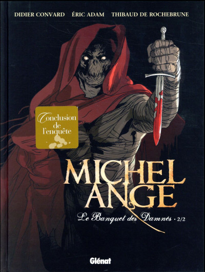Couverture Michel Ange tome 2
