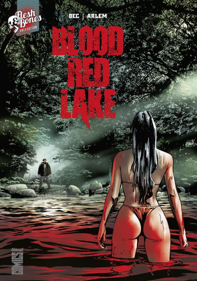 Couverture Blood red lake