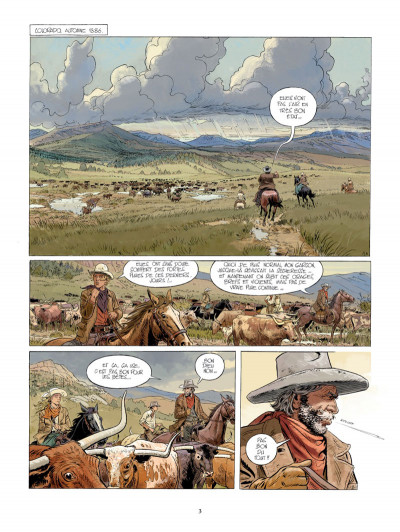 Page 1 Gunfighter tome 1