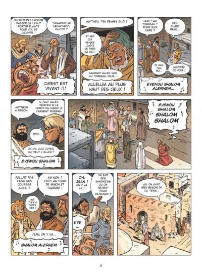 Page 4 Un jour sans Jésus tome 1