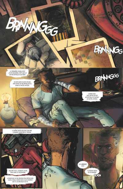 Page 1 Dead letters tome 1