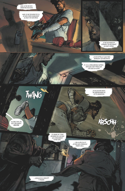 Page 2 Dead letters tome 1