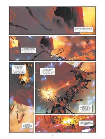 Page 2 Retour au centre de la terre tome 3