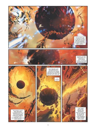 Page 3 Retour au centre de la terre tome 3