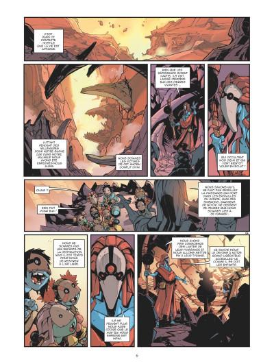 Page 4 Retour au centre de la terre tome 3