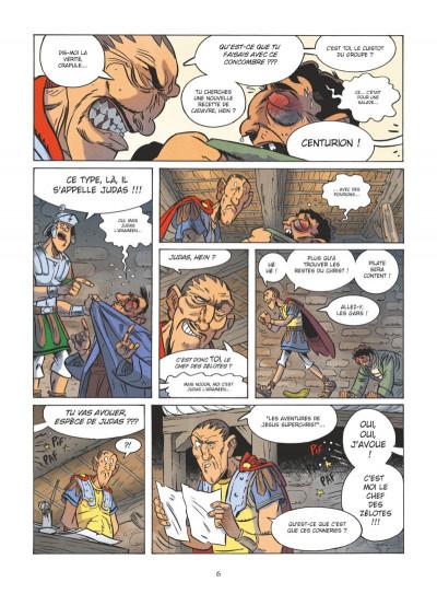 Page 4 Un jour sans Jésus tome 3