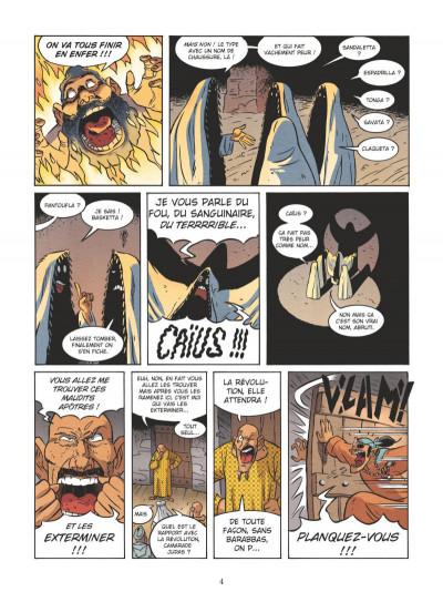 Page 2 Un jour sans Jésus tome 4