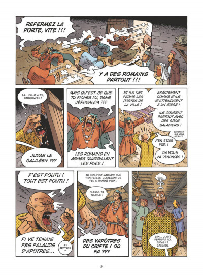 Page 3 Un jour sans Jésus tome 4