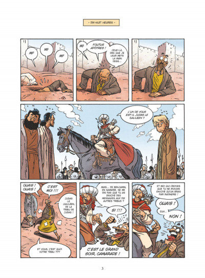 Page 1 Un jour sans Jésus tome 6