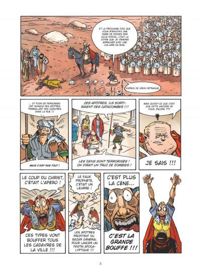 Page 3 Un jour sans Jésus tome 6