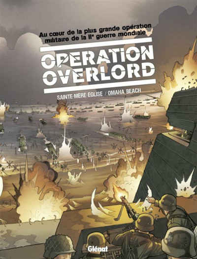 Couverture Opération overlord coffret tome 1 et tome 2