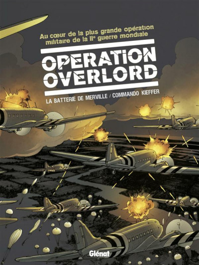 image de Opération overlord coffret tome 3 et tome 4 - La Batterie de Merville et Commando Kieffer