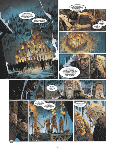 Page 3 Serpent dieu tome 1