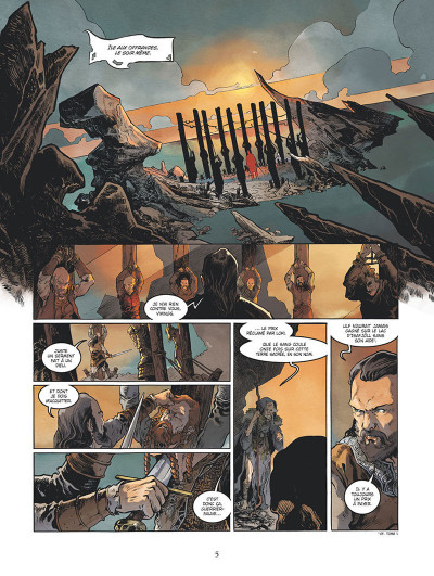 Page 6 Serpent Dieu tome 2