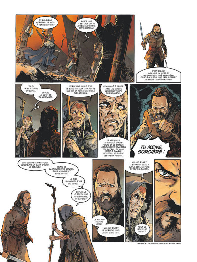 Page 7 Serpent Dieu tome 2