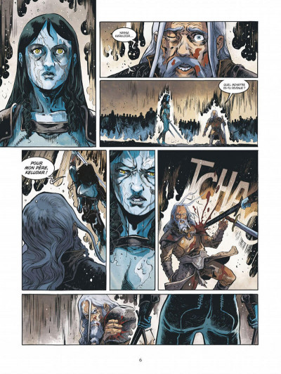 Page 6 Serpent dieu tome 3