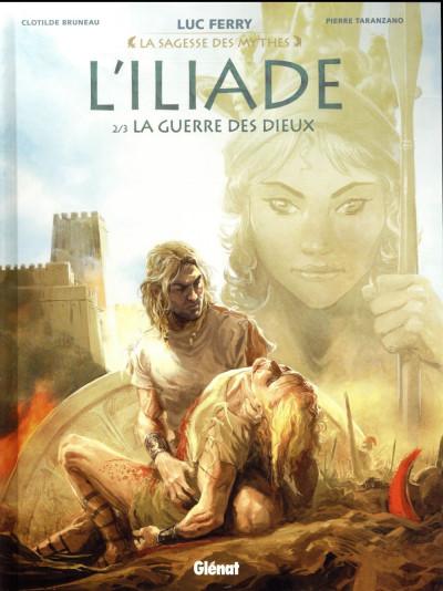 Couverture L'iliade tome 2