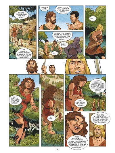 Page 4 L'odyssée tome 2