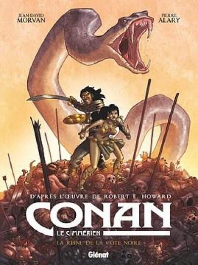 Couverture Conan le Cimmérien - La reine de la côte noire