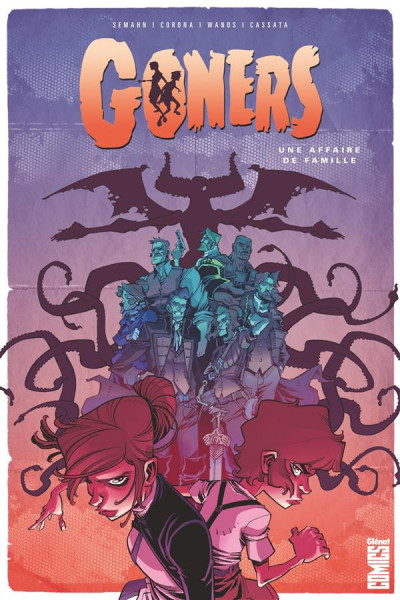 Couverture Goners tome 1
