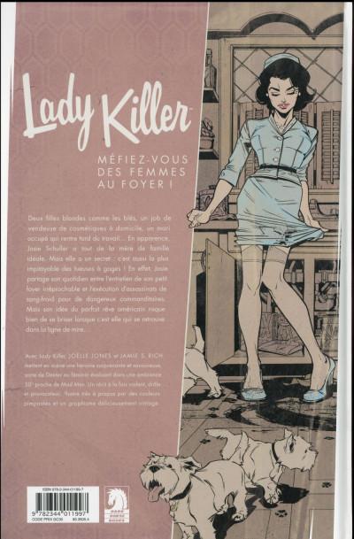Dos Lady killer tome 1