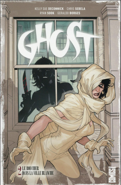 Couverture Ghost tome 2
