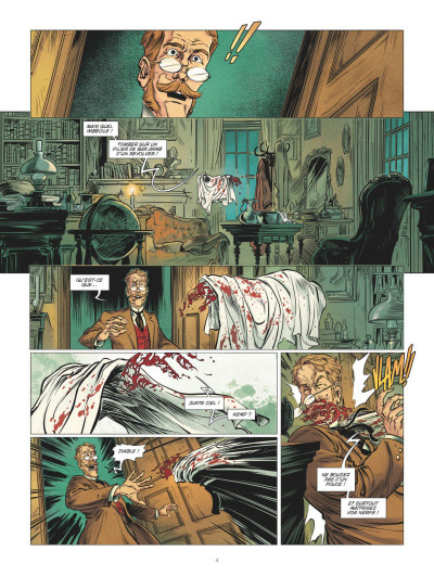 Page 2 L'homme invisible tome 2