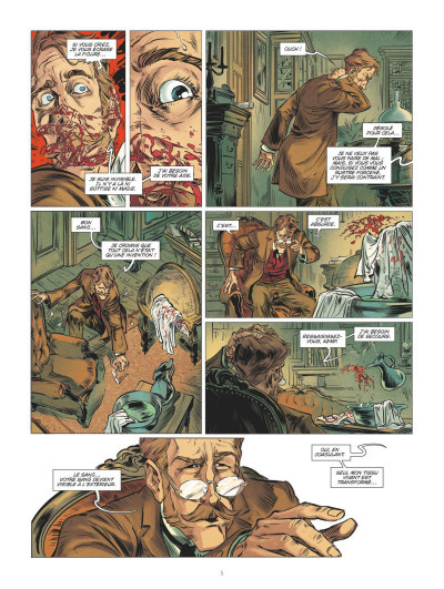 Page 3 L'homme invisible tome 2