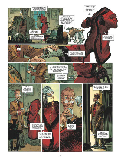 Page 4 L'homme invisible tome 2