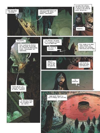 Page 2 Le troisième testament - Julius tome 5
