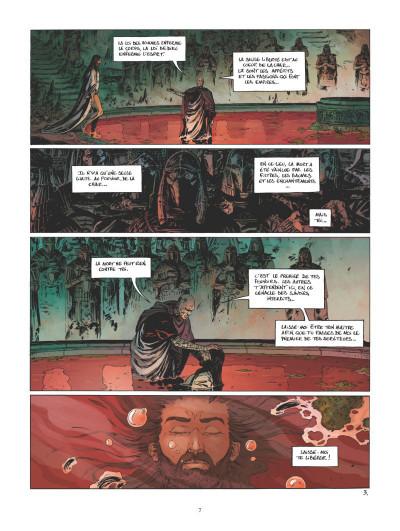 Page 3 Le troisième testament - Julius tome 5