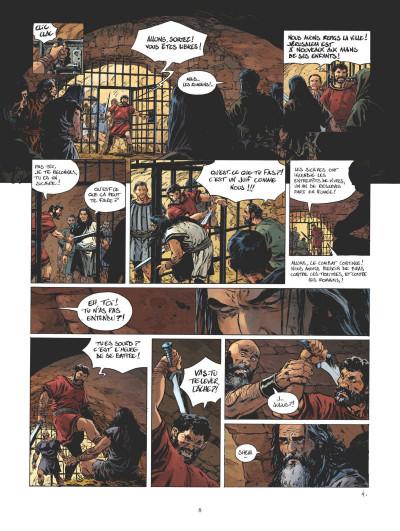 Page 4 Le troisième testament - Julius tome 5