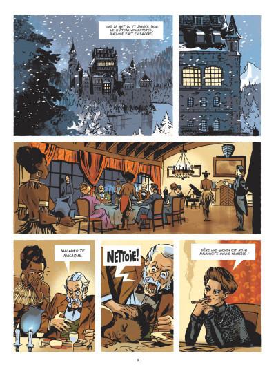 Page 1 Beauté noire et le groupe Prospero tome 1