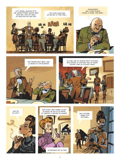 Page 2 Beauté noire et le groupe Prospero tome 1
